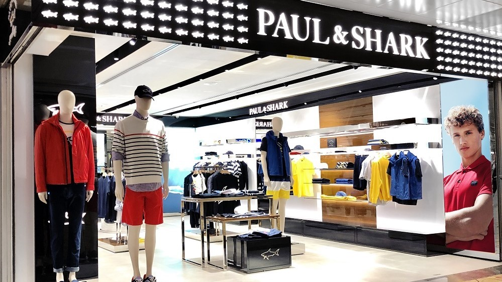 Paul&Shark Lands in Singapore