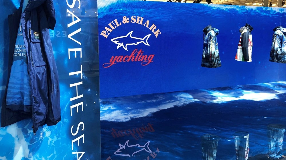 Paul&Shark Coverage: Pitti Immagine uomo 96