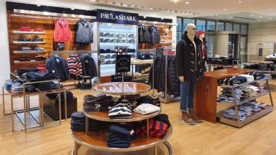 Paul&Shark opens a new corner in Frankfurt