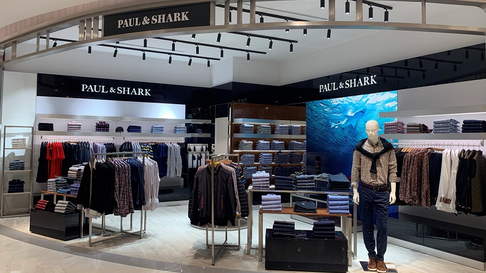 New Opening for Paul&Shark in Mexico @El Palacio de Hierro